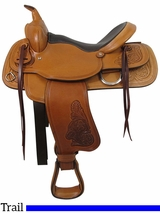 "** SALE ** PRICE REDUCED! 16"" Big Horn Trail Saddle 526"