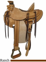 "PRICE REDUCED! 14"" Big Horn Wade Ranch Saddle 866"