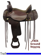 "PRICE REDUCED! 16"" Circle Y Carlsbad Flex2 Trail Saddle 2376, Floor Model uscy3302 *Free Shipping*"