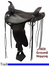 "PRICE REDUCED! 16"" Circle Y Flex2 Saddle Alabama Trail Gaiter 1581, Floor Model uscy3307 *Free Shipping*"