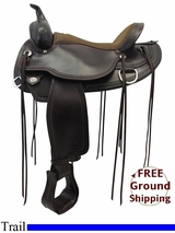 "PRICE REDUCED! 16"" Circle Y Omaha Flex Tree Saddle 1554, Floor Model uscy3310 *Free Shipping*"