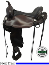 """SOLD 2016/08/29  PRICE REDUCED! 16"""" Circle Y Salt River Wide Flex 2 Trail Saddle 1667 uscy3535 *Free Shipping*"""