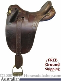 "PRICE REDUCED! 16"" Used Australian Saddle usau2516 *Free Shipping*"