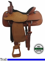"PRICE REDUCED! 16"" Big Horn Wide Roper Saddle 1607, Floor Model usbh3354 *Free Shipping*"