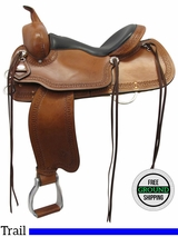 "PRICE REDUCED! 16"" Used Circle Y Shallowater All-Around Trail Saddle 2606 uscy3514"