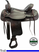 """PRICE REDUCED - New 16"""" American Saddlery Texas Best Del Rio 950 Trail Saddle usam3136 *Free Shipping*"""