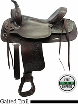 "SOLD 2016/05/26 PRICE REDUCED - New 16"" American Saddlery Texas Best Del Rio 950 Gaited Trail Saddle usam3136 *Free Shipping*"