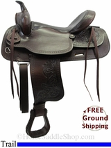 "PRICE REDUCED - New 16"" American Saddlery Texas Best Del Rio 950 Trail Saddle usam3136 *Free Shipping*"