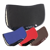 "Professional's Choice Charmayne James SMx Air Ride Barrel Saddle Pad ARSB Fleece Bottom 28"" x 30"""