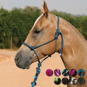 Professional's Choice Roper Halter with 10 foot lead HR