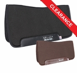 "Professional's Choice SMx Air Ride Western All Around Saddle Pad ARAAF Felt Bottom 30"" x 32"" CLEARANCE"