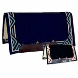 "DISCONTINUED Professional's Choice SMx Air Ride Western Show Saddle Pad AXHDM32 Mesa Pattern 32""L x 34""D"