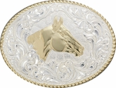 Quarter Horse Belt Buckle by Crumrine C02113