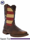 Rebel by Durango Men's Patriotic Pull-On Western Boot DB5554