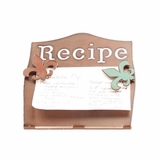 Recipe Holder with Fleur de Lis 94009