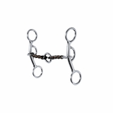 Reinsman 3-Piece Sweet & Sour Snaffle with Lifesaver 355