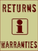 Return Policy and Warranties