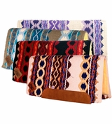 Riverland Woven Straight Cut/Fleece Saddle Pad IG1423