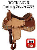Rocking R Training Saddle 2387 Video Review