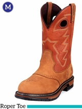 Rocky Branson Saddle Roper Waterproof Western Boot 2775