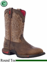 DISCONTINUED Rocky Kid's Long Range Round Toe Western Boot 2573