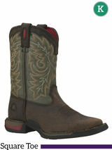 Rocky Kid's Long Range Square Toe Western Boot 2570