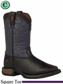 Rocky Kid's Long Range Square Toe Western Boot 2571