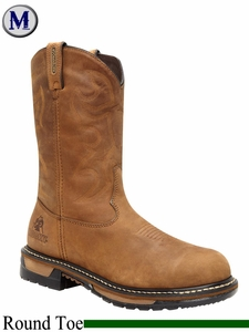 Rocky Men's Branson Waterproof Steel Toe Western Boot 2809