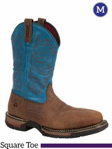 Rocky Men's Long Range Carbon Fiber Waterproof Western Boot RW028
