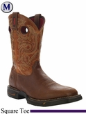 Rocky Men's Long Range Square Toe Western Boot 8075