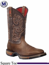 Rocky Men's Long Range Steel Toe Waterproof Pull-On Boot 6654