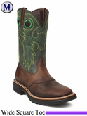 Rocky Men's Original RIDE Steel Toe Western Boot 6026
