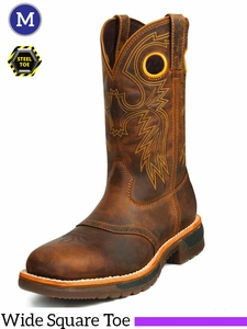 Rocky Men's Original RIDE Steel Toe Western Work Boot 6029