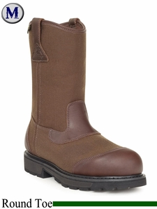 DISCONTINUED Rocky Men's Steel Toe Waterproof Wellington Work Boot 6415