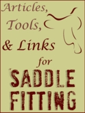 Saddle Fitting: Free and easy saddle fit help from the experts