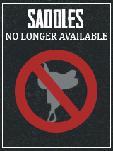 Saddles no longer available