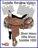 Silver Mesa Elite Show Saddle 1002 Review Video