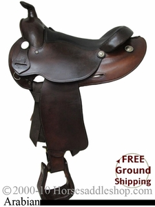 "SOLD 2012/04/09 $599  PRICE REDUCED!  15"" Used Simco Arabian Saddle ussc2116 *Free Shipping*"