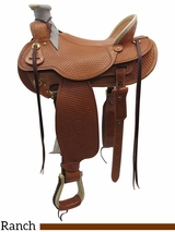 """** SALE ** 15"""" to 17"""" The Teton Valley Wade, Wide Tree Saddle by Colorado Saddlery 300-291-292-293"""