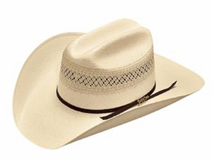 DISCONTINUED Tony Lama 10X Two-Tone Shantung Hat 73131
