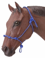 Tough-1 Knotted Rope and Twisted Crown Training Halter