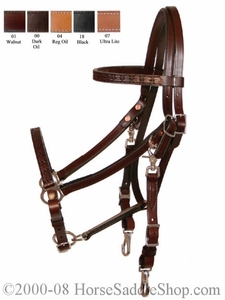 Trail Gaiter Halter Bridle Combo by Circle Y y605-63