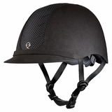 Troxel Black/Black English Riding Helmet 04-351