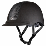 Troxel Black/Silver English Riding Helmet 04-350