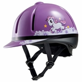 Troxel Legacy Purple Unicorn All-Purpose Helmet 04-136