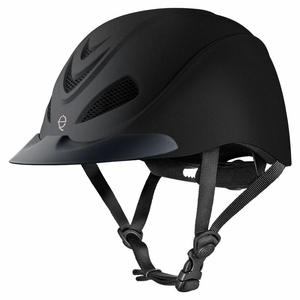 Troxel Liberty Black Duratec Low Profile Schooling Helmet 04-231