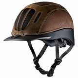 Troxel Sierra Brown Western Riding Helmet 04-369