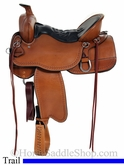 "** SALE **16.5"" to 18.5"" Tucker Big Bend Trail Saddle 293 *free gift*"