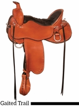 "14.5"" to 18.5"" Tucker Black Mountain Gaited Saddle 261 w/Free Pad"