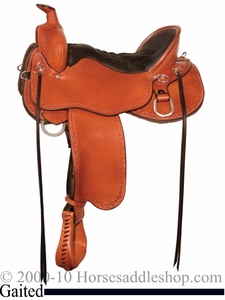 "14.5"" to 18.5"" Tucker Black Mountain Gaited Saddle 261"